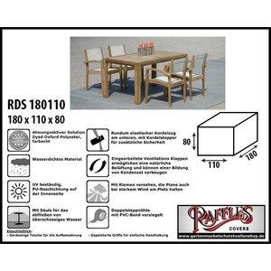 Raffles Covers Abdeckung für rechteckige Sitzgarnituren 180 x 110 H: 80 cm