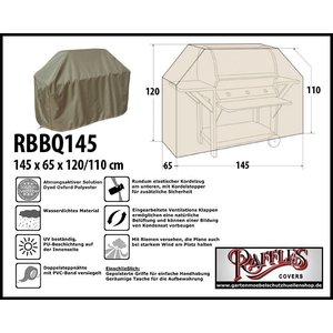 Raffles Covers Grillabdeckung 145 x 65 H: 120/110 cm