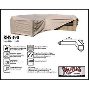 Raffles Covers Loungemöbel Abdeckschutz L-Form 390 x 390 x 115 H: 70 cm