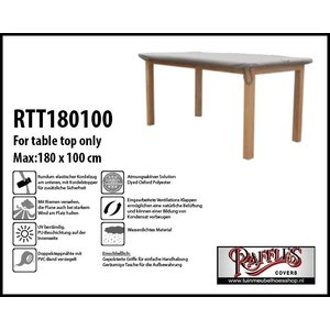 Raffles Covers Schutzhülle nur für Tischplatten 180 x 100 cm