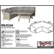 Raffles Covers Schutzhülle Lounge Sofa 260 x 260 x 95 H: 100/65 cm