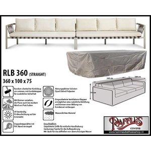 Raffles Covers Schutzhülle für Rattan Lounge Bank 360 x 100 H: 75 cm