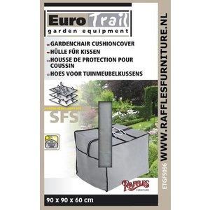 EuroTrail Kissentasche für Loungemöbelauflagen 90 x 90 H: 60 cm