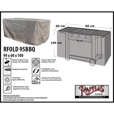 Raffles Covers Schutzhülle für BBQ 95 x 65 cm