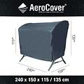AeroCover Schutzhülle für Garten- schaukeln 240 x 150 H: 135/115 cm