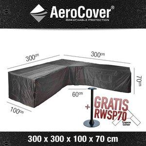 AeroCover Loungemöbel Schutzhaube für L-Form Ecksofa 300 x 300 H: 70 cm