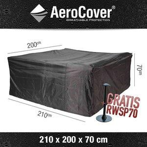 AeroCover Abdeckhaube für lounge Sitzgruppe 210 x 200 H: 70 cm