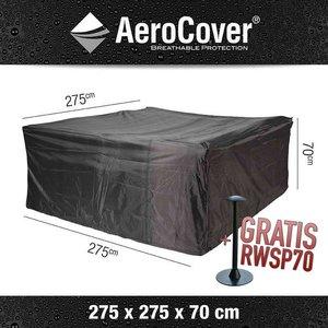 AeroCover Gartenmöbel Schutzhülle für lounge Sofa Sitzgruppe 275 x 275 H: 70 cm