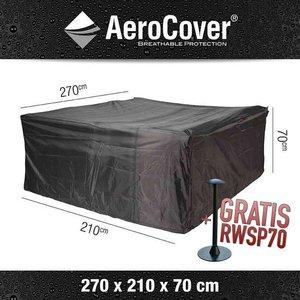 AeroCover Schutzhaube für garten Loungemöbel 270 x 210 H: 70 cm