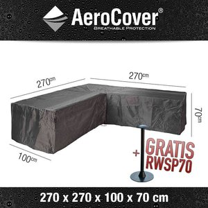 AeroCover Ecksofa L-Form Abdeckung 270 x 270 H: 70 cm