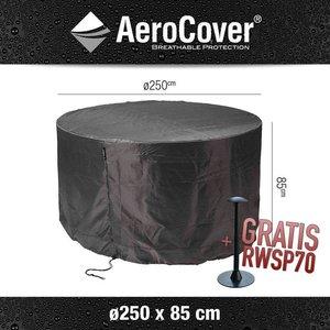 AeroCover Wetterhaube für runder Tisch Ø 250 cm H: 85 cm