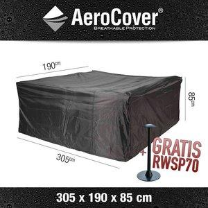 AeroCover Abdeckhaube für rechteckige Garten Sitzgruppe , XXL 305 cm