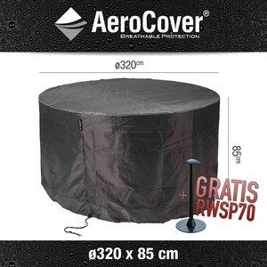 AeroCover Schutzhaube für ein runder Tisch, XL Ø 320 cm & H: 85 cm