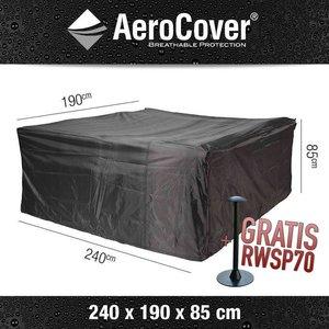 AeroCover Abdeckplane für rechteckige Garten Sitzgruppe 240 x 190 cm