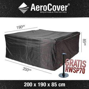 AeroCover Schutzhülle für rechteckige Garten Sitzgruppe 200 x 190 cm