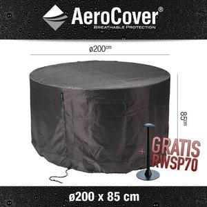 AeroCover Schutzhaube für runder Tisch Ø 200 cm & H: 85 cm