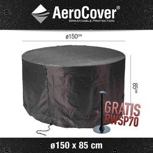 AeroCover Abdeckplane für runder Tisch und Stühle Ø 150 cm H: 85 cm