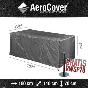 AeroCover Abdeckplane für Gartentisch rechteckig 180 x 110 H: 70 cm