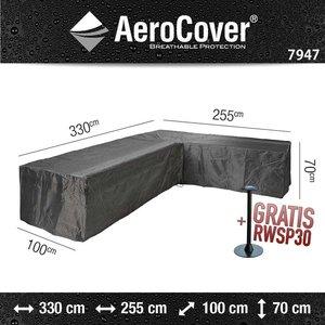 AeroCover Abdeckung für Ecksofa 330 x 255 x 100 H: 70 cm