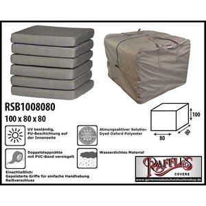 Raffles Covers Tragetasche Schutzhülle für Polsterauflagen 100 x 80 x 80 cm