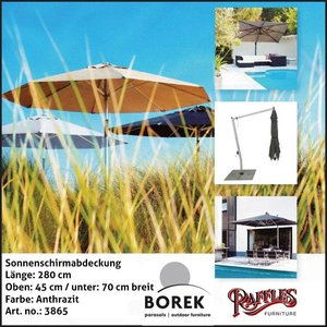 Borek Schutzhülle für Ampelschirm 280 cm
