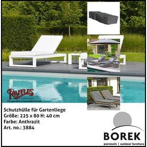 Borek Schutzhülle für Gartenliege 225 x 80 H: 40 cm