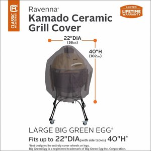 Ravenna, Classic Accessories Big Green Egg Large hoes Ø 56 H: 102 cm