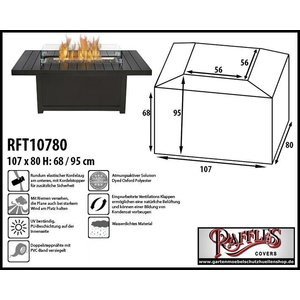 Raffles Covers RFT10780, 107 x 80 H: 68/95 cm