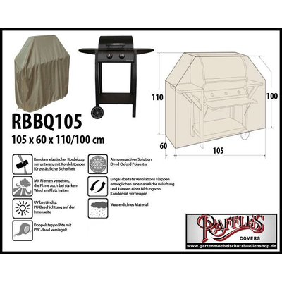 Raffles Covers Grillabdeckung 105 x 60 cm