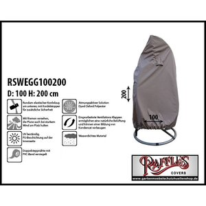 Raffles Covers RSWEGG100200  Ø: 100 & H: 200 cm