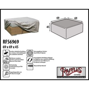 Raffles Covers Schutzhülle für Fußbank 69 x 69 H: 45 cm