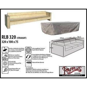 Raffles Covers Lounge Bank Gartenmbel Abdeckung 320 X 100 H 75 Cm