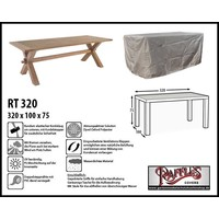 Raffles Covers Abdeckung für Gartentisch 320 x 100 H: 75 cm