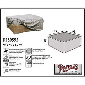 Raffles Covers Abdeckung für Lounge-Tisch 95 x 95 H: 45 cm