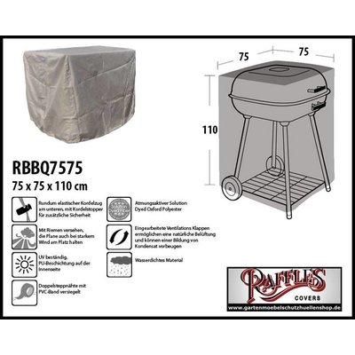 Raffles Covers Abdeckung für quadratisches BBQ 75 x 75 H: 110 cm