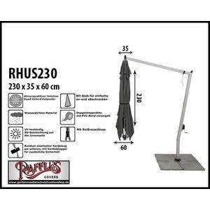 Raffles Covers Abdeckung für einen hängenden Sonnenschirm H: 230 cm