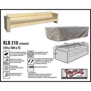 Raffles Covers XL Abdeckung für Loungesofa 310 x 100 H: 75 cm