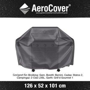AeroCover Schutzhülle Grill Cover Small 126 x 52 H: 101 cm