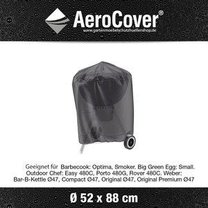 AeroCover Kugelgrill Abdeckung rund 52 cm,  H: 88 cm