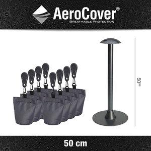 AeroCover Abstandshalter 50 cm  mit 8 Sandsäcke