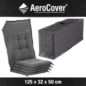 AeroCover Tragetasche für 4 Garten- Möbelauflagen 125 x 50 H: 32 cm