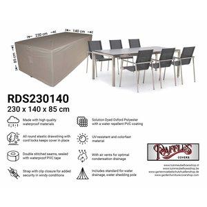 Raffles Covers Wetterschutz für Gartenmöbel Sitzgruppe 230 x 140 H: 85 cm