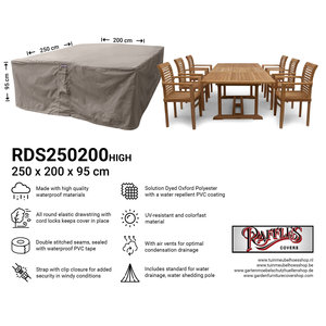 Raffles Covers Gartenmöbel Schutzhülle für Sitzgruppe 250 x 200 H: 95 cm