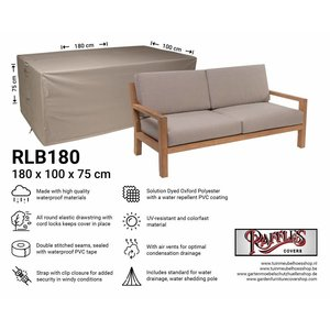 Raffles Covers Schutzhülle für Gartensofa 180 x 100 H: 75 cm