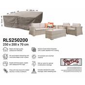 Raffles Covers Schutzhülle für Geflecht Lounge-Möbelset 250 x 200 H: 70 cm