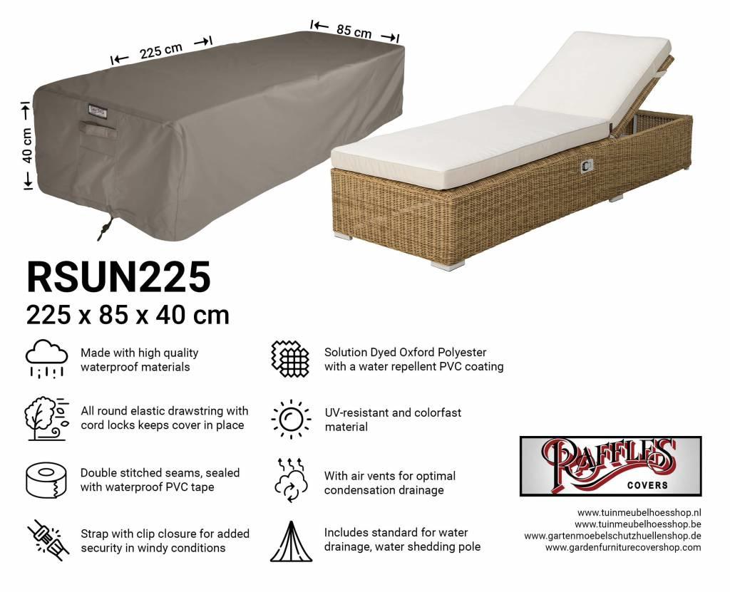Abdeckung Für Garten Sonnenliege 225 X 85 H 40 Cm