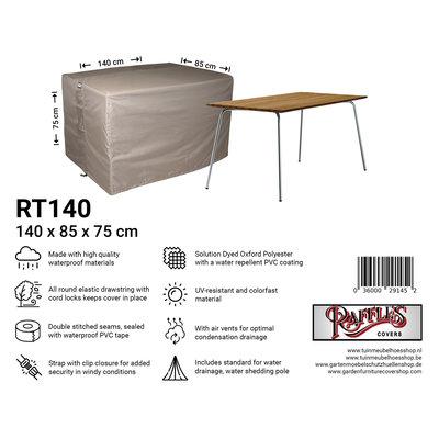 Raffles Covers Abdeckung für Gartentisch 140 x 85 H: 75 cm