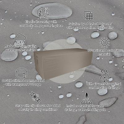 Raffles Covers Gartentisch Gartenmöbel Abdeckung 230 x 100 H: 75 cm