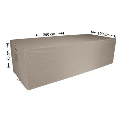 Raffles Covers Schutz für rechteckige Gartentisch 260 x 100 H: 75 cm