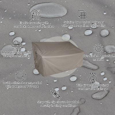 Raffles Covers Abdeckhaube für Gartenbank 185 x 65 H: 95/65 cm